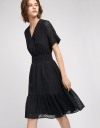 Wrap Dress With Elasticated Waist