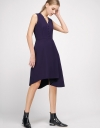 A-Line Dress With Button Front