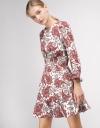 Printed Dress With Elasticated Waist