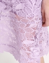 Sleeveless A-Line Lace Dress
